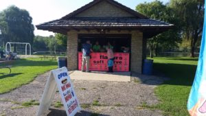 Friends of Riverside Park concession stand. Photo by Tasha Calkins Laveen.