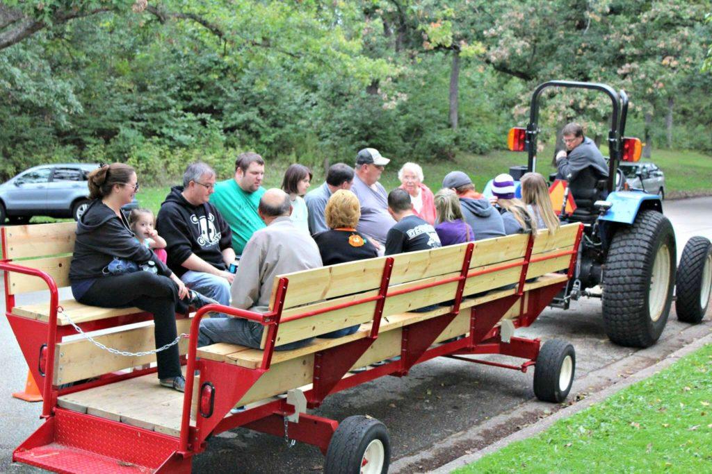 Wagon Rides in Riverside Park