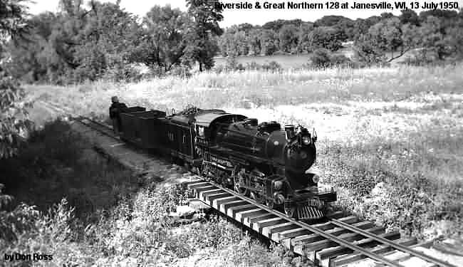 The Riverside & Great Northern Railroad, Riverside Park, Janesville, Wisconsin