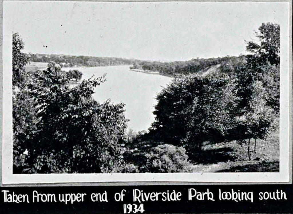 Riverside Park, 1934, Janesville, Wisconsin